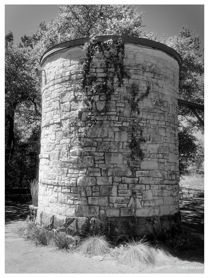 Cistern in Black and White