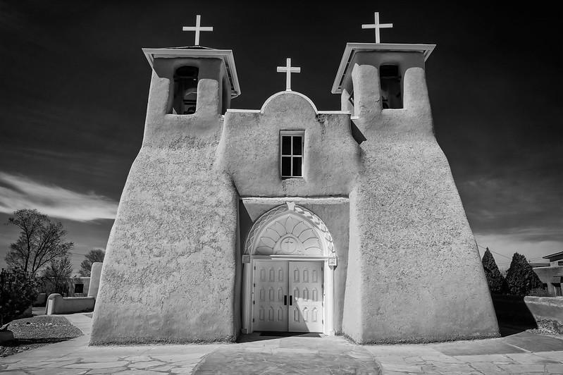 San Francisco de Asis Church, Ranchos de Taos, Taos, New Mexico