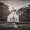 Abandoned Kyger Methodist Church from 1884 near Cheshire, Southeastern Ohio