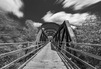 Vermillion Bridge BW Long Exposure 4