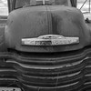 Rusting Chevrolet farm truck