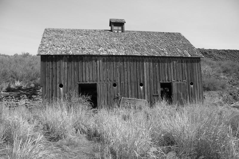Abandoned rual barn.