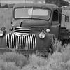 Forgotten flatbed truck.