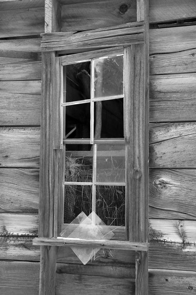 Neglected window.