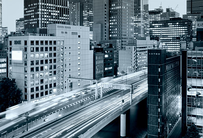 highways-of-central-tokyo-black-and-white_HDR