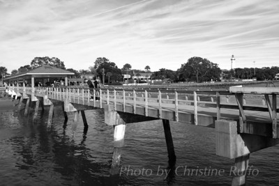 Pier at St. Simons Island, Georgia  Photo by Christine Ruffo All rights reserved