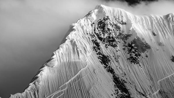 Corniced Ridge, Peru