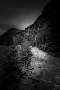 French photographer Serge Ramelli in Lauterbrunnen