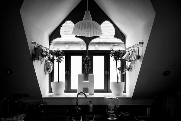 Black  & white  - Margaret & Simon