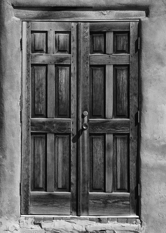 Door, Santa Fe New Mexico.
