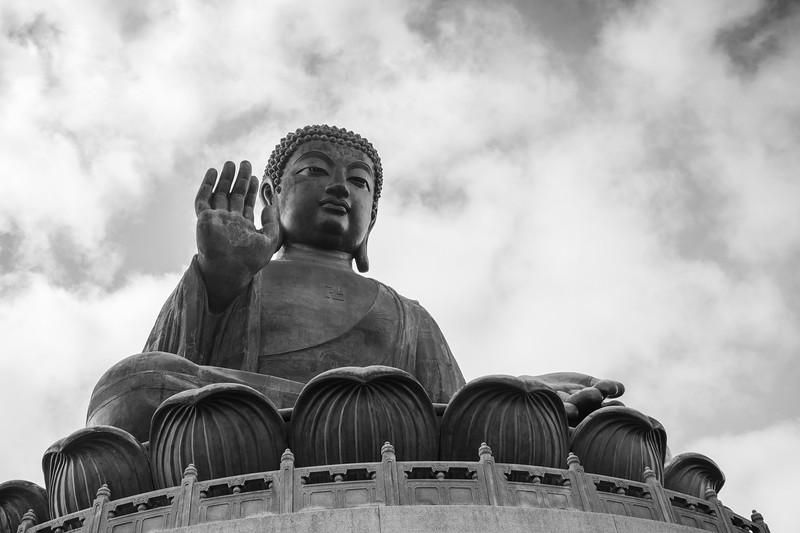 Tian Tan Buddha (Big Buddha) in Hong Kong