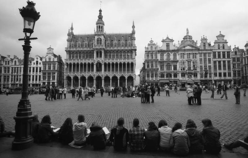 Grand Place de Bruxelles - F100, 20-35 et Tmax100