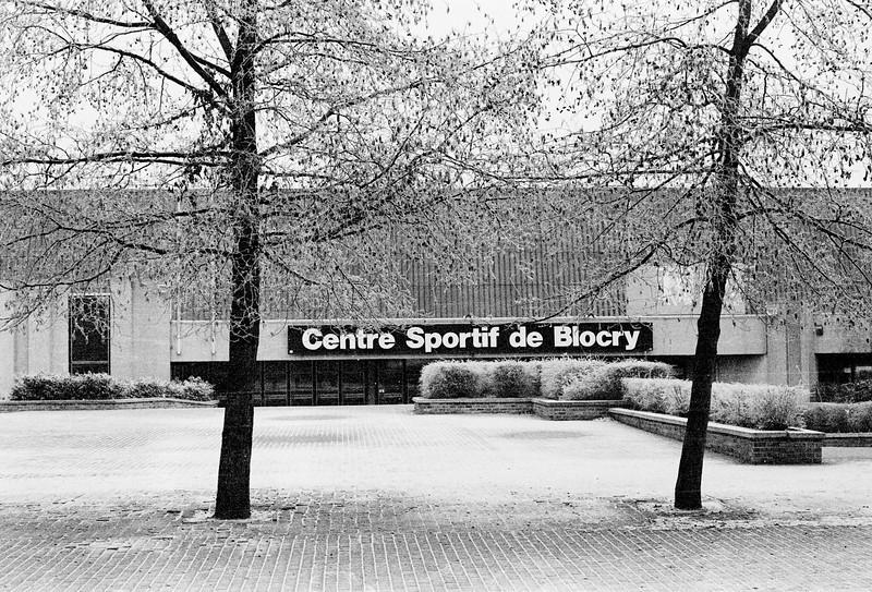 Complexe sportif du Blocry - Minolta XG-1, 50mm et Ilford FP4