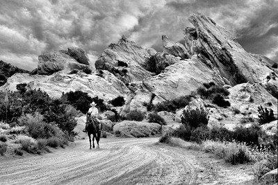 A Ride in Vasquez Rocks