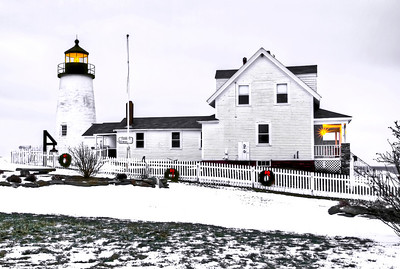 Pemaquid Point Lighthouse Bristol Maine