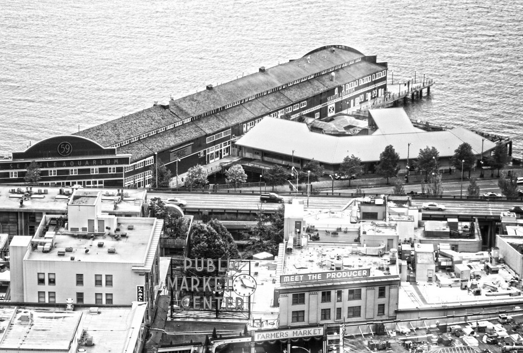 Pike Market and Seattle Aquarium, Seattle, Washington