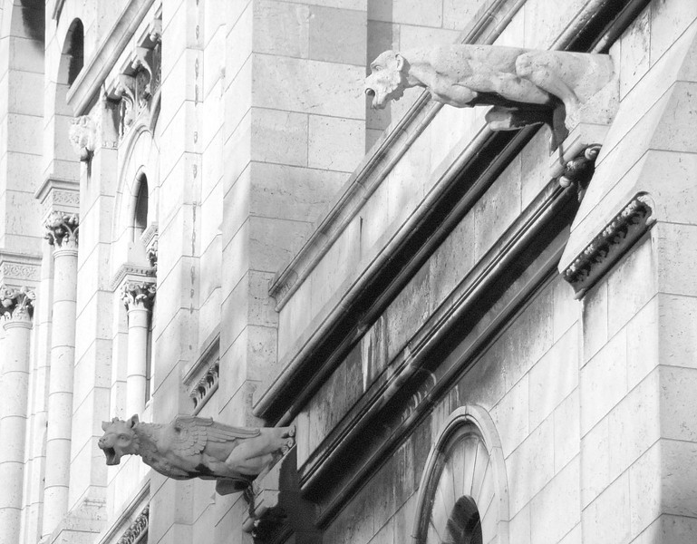 Gargoyles at Sacre Coeur