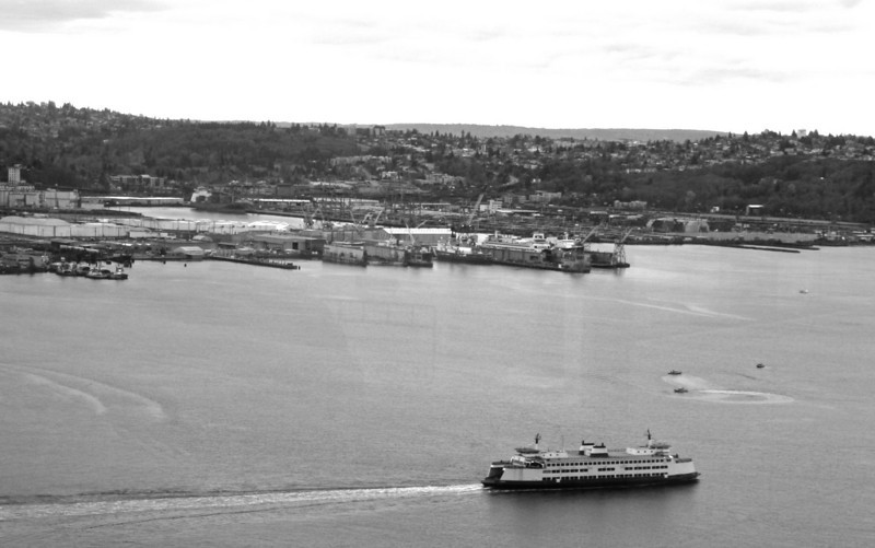 Ferry in the Puget Sound