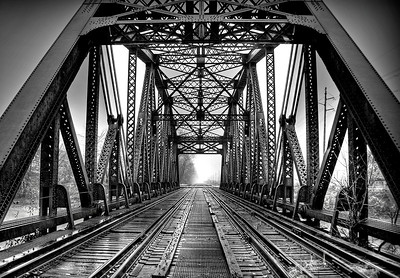 Train Bridge Over The Genesee River 2012