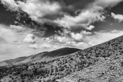 Clouds, White Mountain Road
