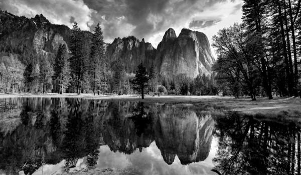 Cathedral Rock, Yosemite
