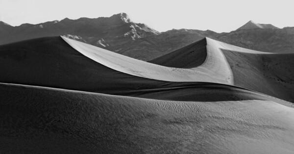Death Valley Sand dunes at sunrise