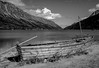 Lake Bennett in the Yukon, Canada - #0077