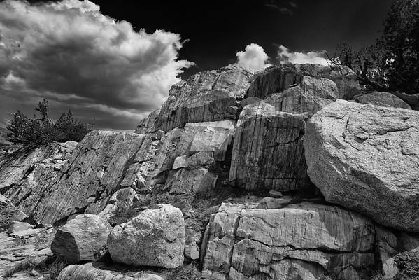 Saddlebag Lake Rocks