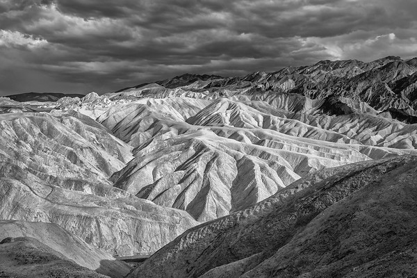 Zabriskie Point, South View, Death Valley National Park, CA