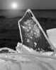 Plate ice on the shores of Lake Superior, near Split Rock Lighthouse, Minnesota.   #0049