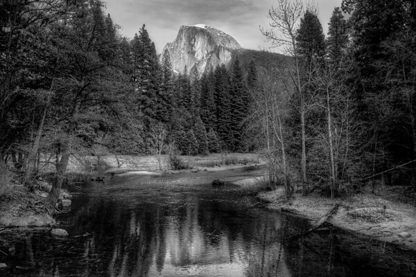 Half Dome from Merced
