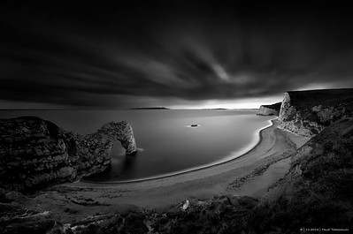 11.2014 - LE -  B&W - Durdle Door