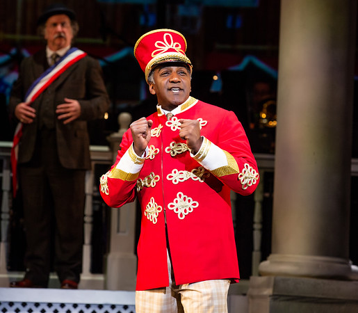 "Norm Lewis in ""The Music Man"" / Kennedy Center 2019"