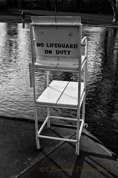 No Life Guard