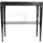 Hammered Iron hall table