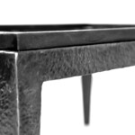 Solid hammered Iron cabinet base (very heavy)