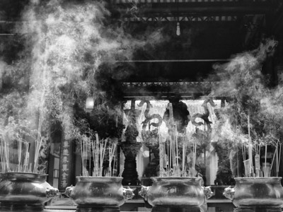 Incense at the Temple