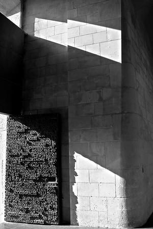 Entrance of La Sagrada Familia