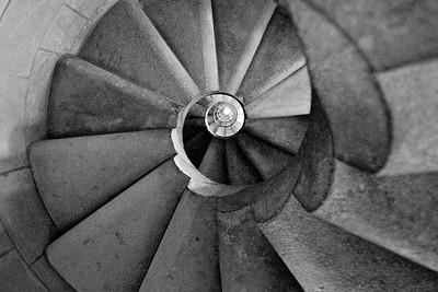 Looking up - La Sagrada Familia