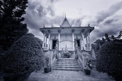 Monk in Vietnam (Near Cambodia)