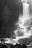 Vernal Falls, Merced River - Yosemite National Park - California, USA.