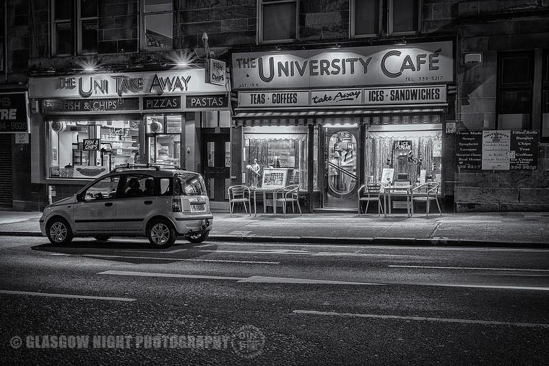 University Cafe - Byres Road