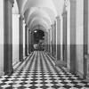 Walkway patterns (b/w)