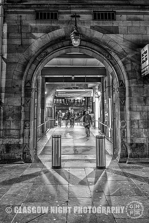 Hope Street entrance to Central Station
