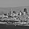 City by the bay (b/w)