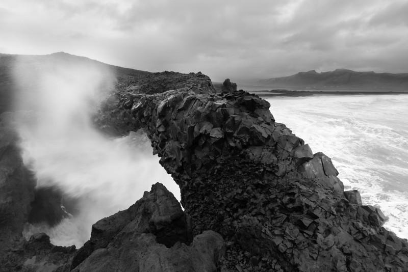 Beaches of Vik, Iceland