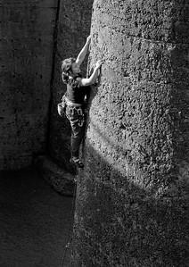 Climbing practice