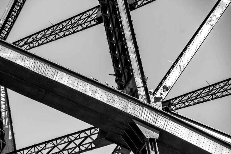 The Harbor Bridge in Sidney, Australia