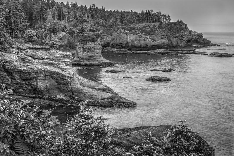 The Makak Indian Reservation in far Northwest Washington