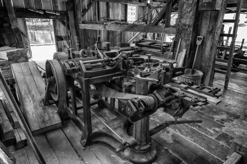 Lumber mill.